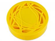 Контейнерчета за съхранение - Комплект за лещи с огледало Орнаменти - жълт