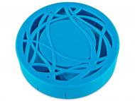 Контейнерчета за съхранение - Комплект за лещи с огледало Орнаменти - син