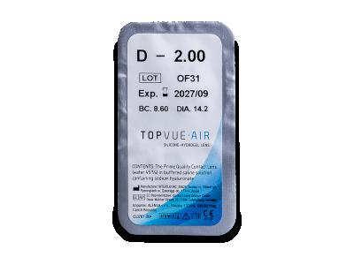 TopVue Air (6 лещи) - Преглед на блистер