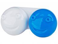 Контейнерчета за съхранение - Контейнерче за лещи 3D - синьо