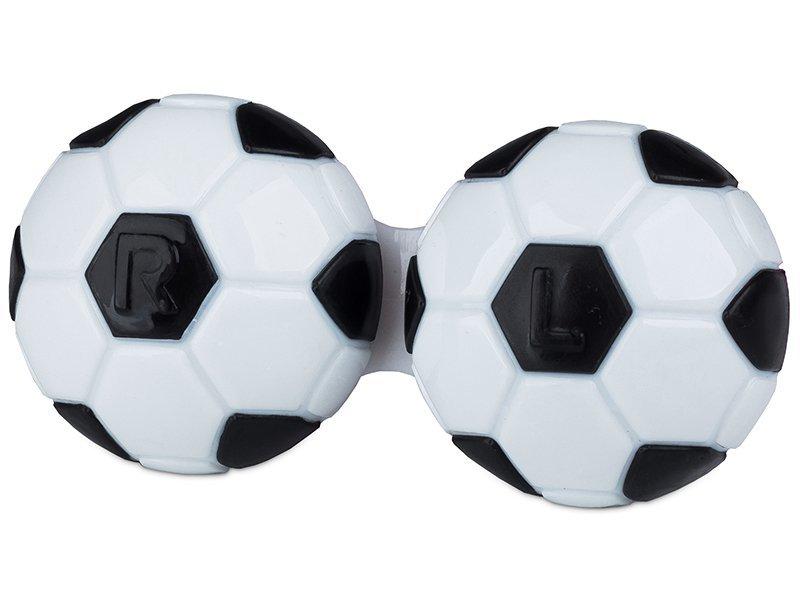 Контейнерче за лещи Футбол - чернo