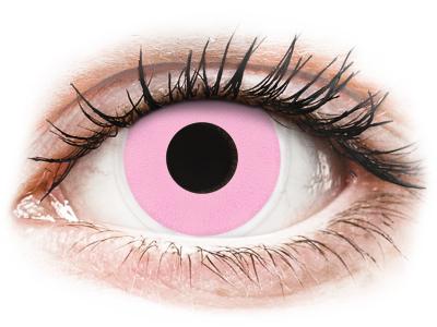 ColourVUE Crazy Lens - Barbie Pink - без диоптър (2 лещи)