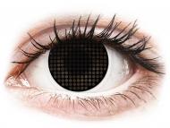 Maxvue Vision - цветни лещи - ColourVUE Crazy Lens - Black Screen - без диоптър (2лещи)