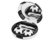 Контейнерчета за съхранение - Комплект за лещи с огледало Football - черен