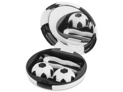 Комплект за лещи с огледало Football - черен