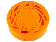 Контейнерчета за съхранение - Комплект за лещи с огледало Орнаменти - оранжев