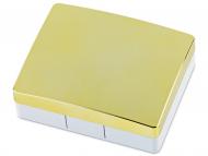 Контейнерчета за съхранение - Комплект за лещи с огледало Elegant - злато