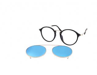Кръгли диоптрични очила - Crullé TR1712 C2