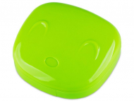 Контейнерчета за съхранение - Комплект за лещи с огледало Face - зелен