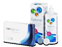TopVue Air (6 лещи) + Разтвор Gelone 360 мл