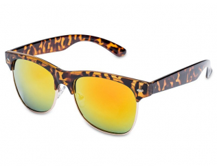 Квадратни слънчеви очила - Слънчеви очила TigerStyle - Жълти