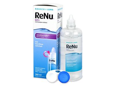 Разтвор Sensitive Eyes ReNu MPS 360 ml  - По-старт дизайн