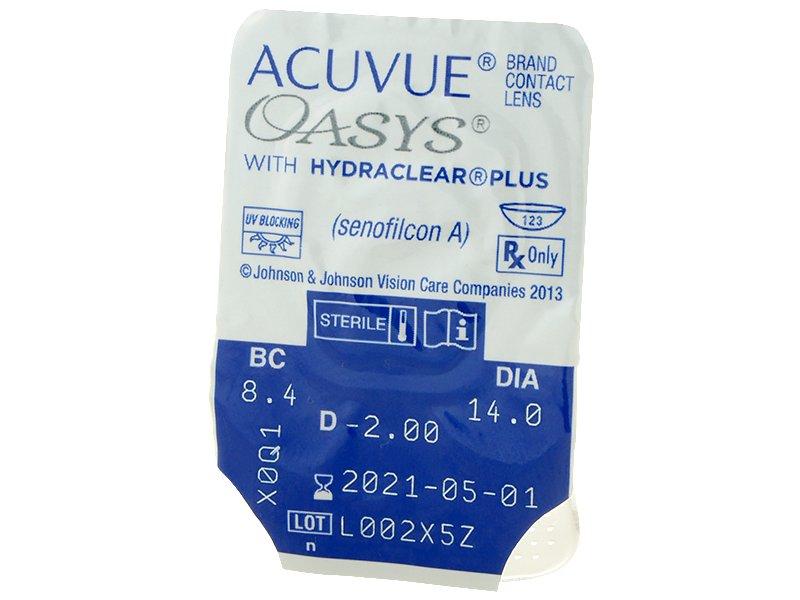 Acuvue Oasys (12лещи) - Преглед на блистер