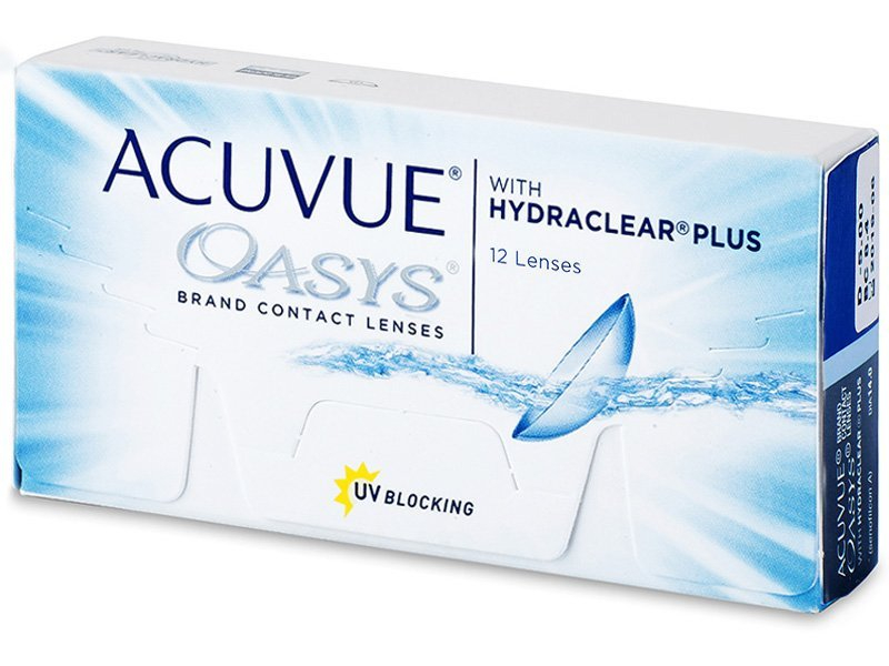 Acuvue Oasys (12лещи) - Двуседмични контактни лещи