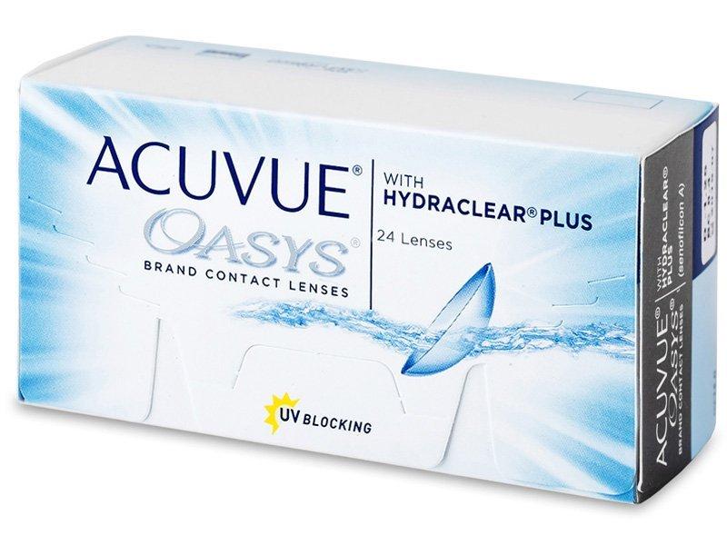 Acuvue Oasys (24 лещи) - Двуседмични контактни лещи
