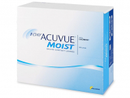 Лещи за очи Johnson and Johnson. Онлайн оптика - 1 Day Acuvue Moist (180 лещи)