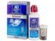 Разтвори за контактни лещи - Разтвор AO SEPT PLUS HydraGlyde 90мл.