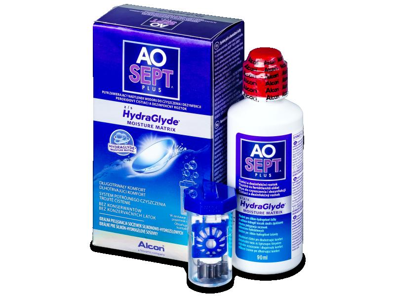 Разтвор AO SEPT PLUS HydraGlyde 90ml.  - Разтвор за почистване
