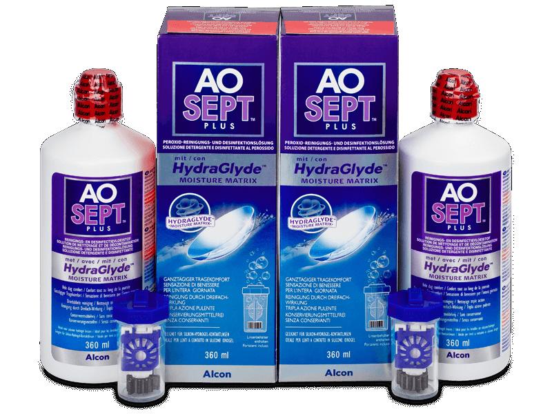 Разтвор AO SEPT PLUS HydraGlyde 2x360ml  - Икономичен пакет два разтвора