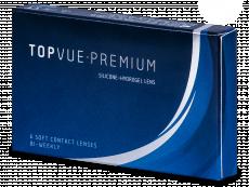 TopVue Premium (6 лещи) - Двуседмични контактни лещи