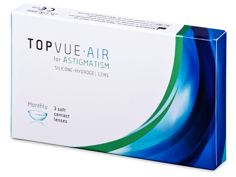 TopVue Air for Astigmatism (3лещи) - Торични лещи