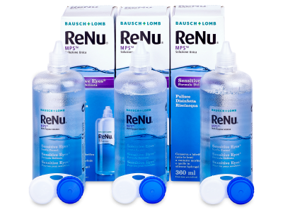 Разтвор Sensitive Eyes ReNu MPS 3 х 360 ml