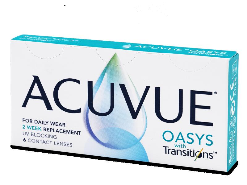 Acuvue Oasys with Transitions (6 лещи) - Двуседмични контактни лещи