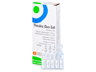 Гел за очиT healoz Duo Gel 30x 0,4g