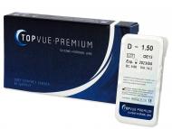 Евтини двуседмични лещи за очи онлайн - TopVue Premium (1леща)