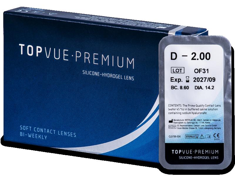 TopVue Premium (1леща) - Двуседмични контактни лещи
