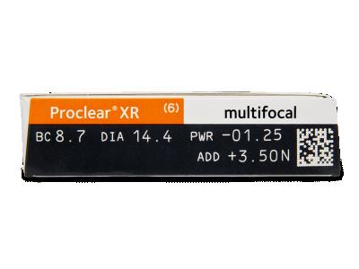 Proclear Multifocal XR (6лещи) - Преглед на параметри