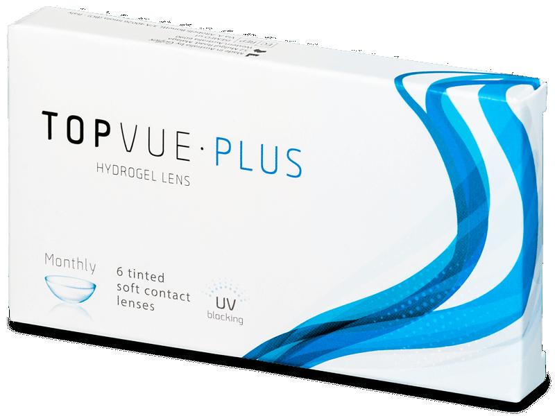 TopVue Monthly Plus (6 лещи) - Месечни контактни лещи