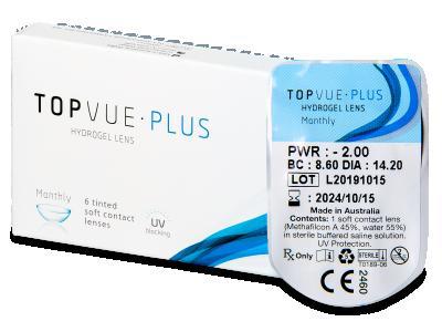 TopVue Plus (1леща) - Месечни контактни лещи