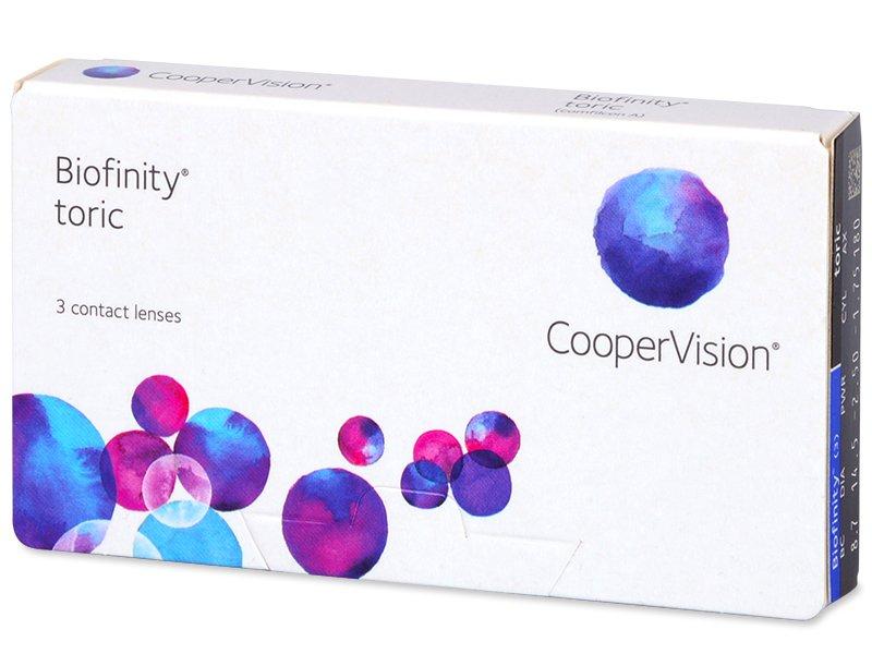Biofinity Toric (3лещи) - Торични лещи