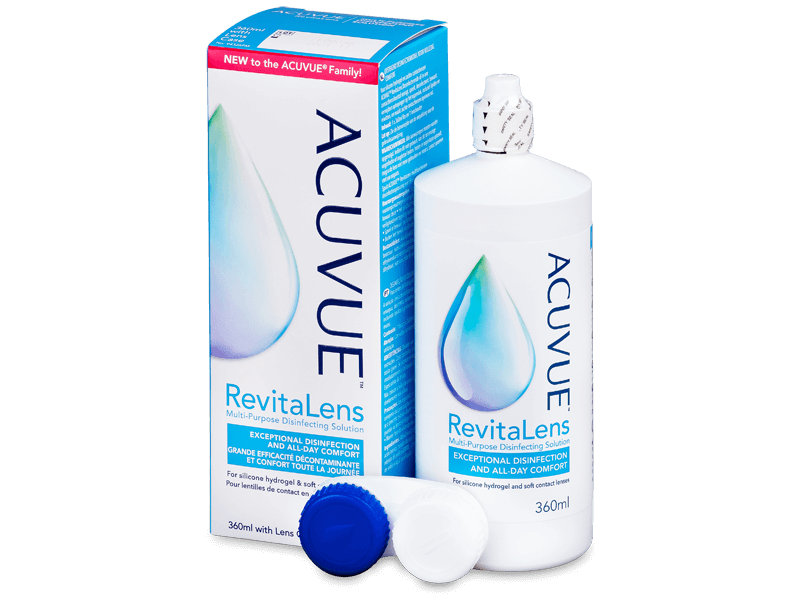 Acuvue RevitaLens Разтвор 360 ml  - Разтвор за почистване