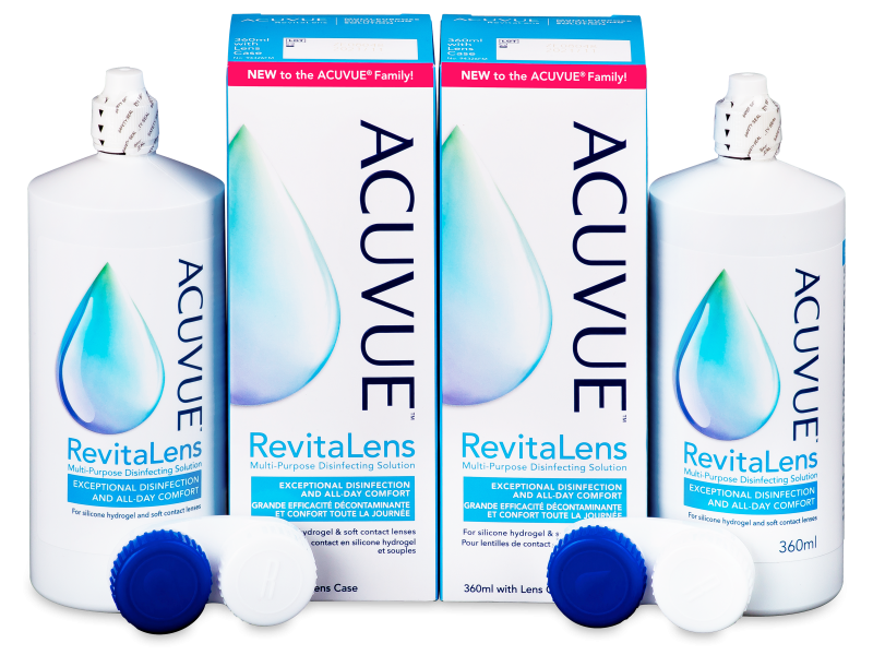Acuvue RevitaLens Разтвор 2x 360 ml  - Economy duo pack- solution