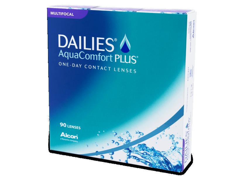 Dailies AquaComfort Plus Multifocal (90лещи) - Мултифокални лещи