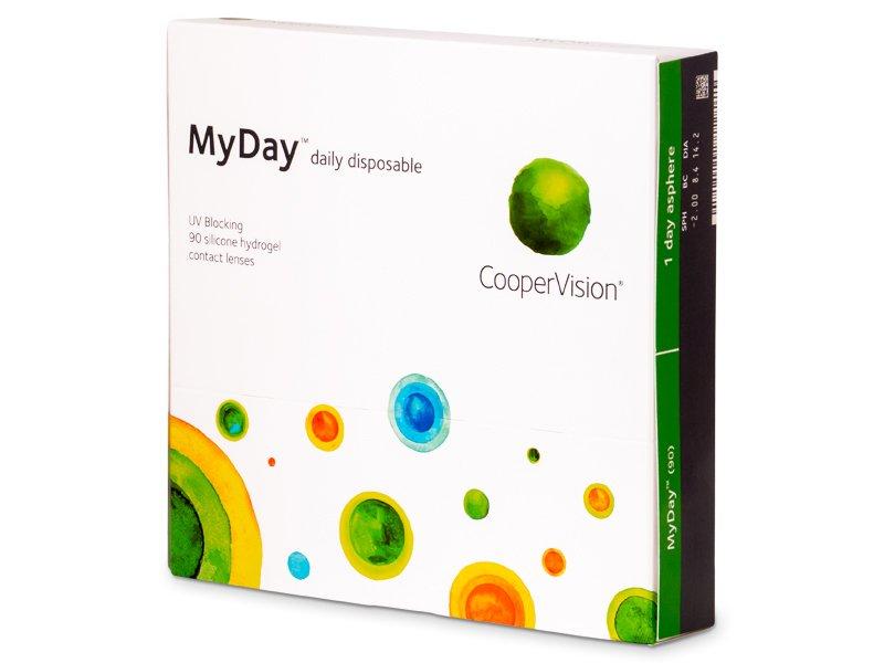 MyDay daily disposable (90лещи) - Еднодневни контактни лещи
