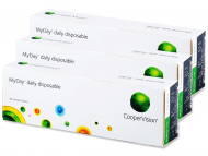 Контактни лещи Cooper Vision - MyDay daily disposable (90 лещи)