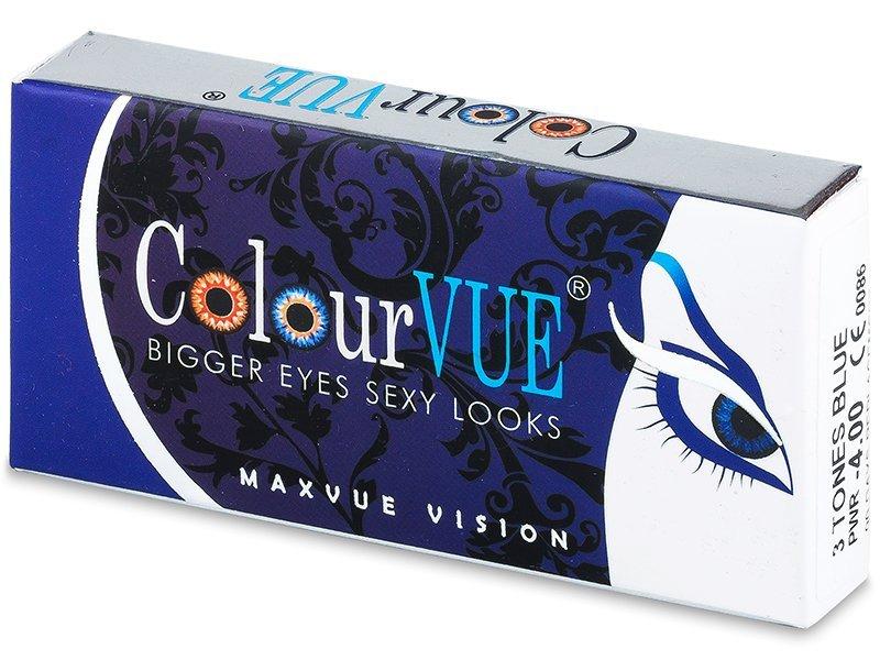 ColourVUE - 3 Tones (2лещи) - Coloured contact lenses