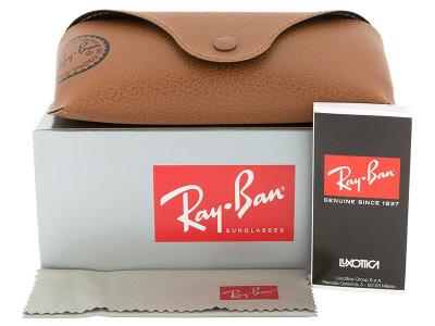 Ray-Ban Original Wayfarer RB2140 902/57  - Preview pack (illustration photo)