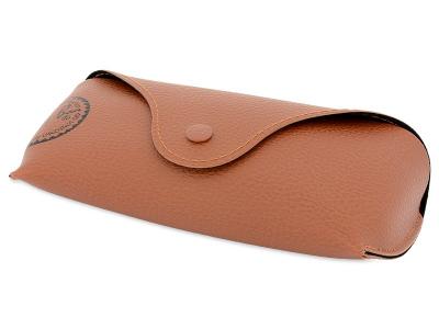 Ray-Ban Original Wayfarer RB2140 902/57  - Original leather case (illustration photo)