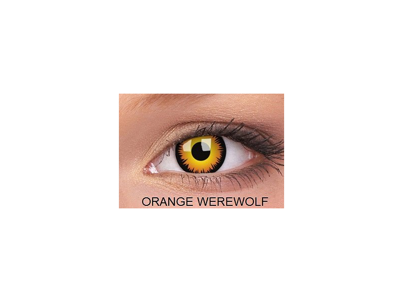 Crazy ColourVUE (2лещи) - Orange Werewolf