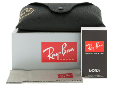 Ray-Ban Original Aviator RB3025 112/93  - Preview pack (illustration photo)