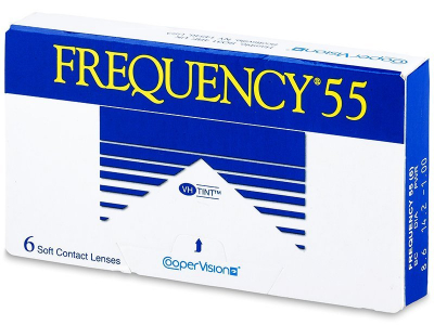 Месечни контактни лещи - Frequency 55 (6лещи)