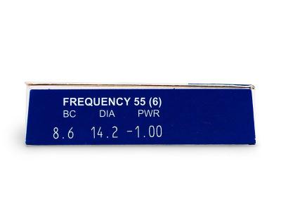 Преглед на параметри - Frequency 55 (6лещи)