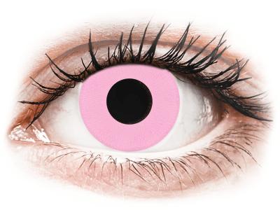 CRAZY LENS - Barbie Pink - дневни с диоптър (2 лещи)