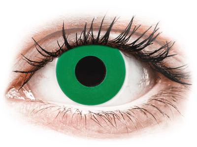 CRAZY LENS - Emerald Green - дневни с диоптър (2 лещи)