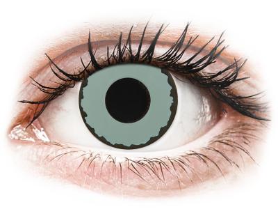 CRAZY LENS - Zombie Virus - дневни с диоптър (2 лещи)