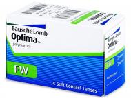 Bausch and Lomb - лещи за очи, разтвори и капки - Optima FW тримесечни (4лещи)